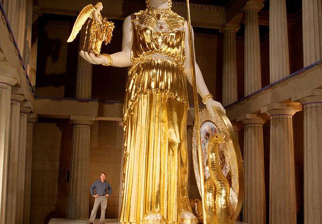 Statue e divinita' Greche